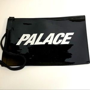 Palace Zippered plastic waterproof pouch New Black